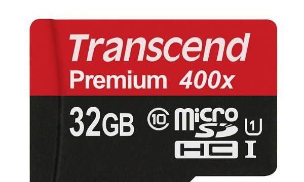 transcend memory MicroSDHC